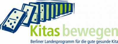 """Logo of Berliner Landesprogramm """"Kitas bewegen - für die gute gesunde Kita (LggK)"""""""